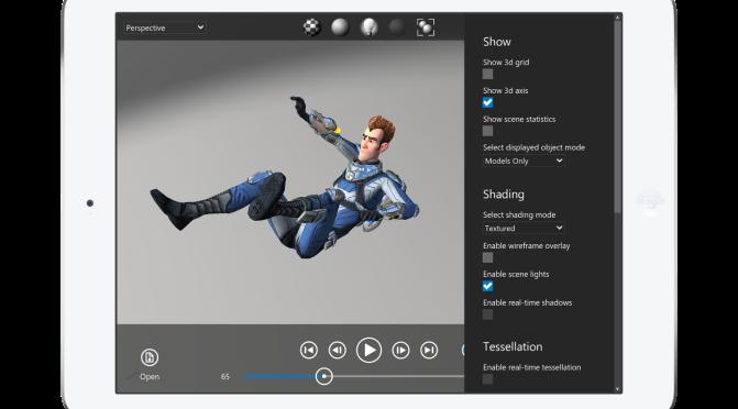 Visualizador FBX Review da Autodesk agora no iOS!