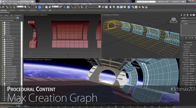Autodesk Anuncia Novidades do 3ds Max 2016